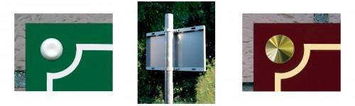 Systèmes de fixation des plaques de rues