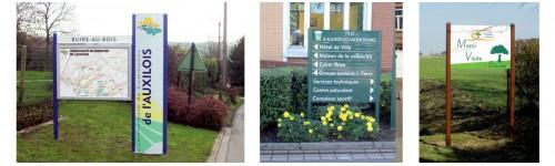 Entrées de ville et portiques communaux