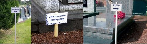 Signalisation du cimetière