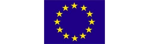 Pavillons et drapeaux Europe