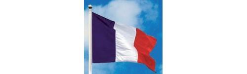 Pavillons et drapeaux France