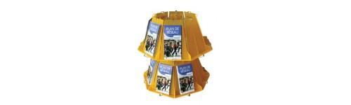 Porte brochures de comptoir et au sol