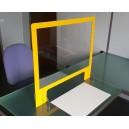 Ecran de protection coloré pour bureau