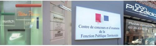 Enseigne lumineuses ''Lettres de façade''