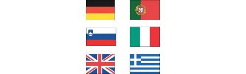 Pavillons et drapeaux