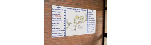 Plan de site intérieur